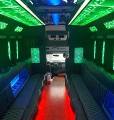 25 Passenger Limo Bus